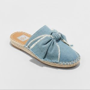 DV Denim Bow Mules
